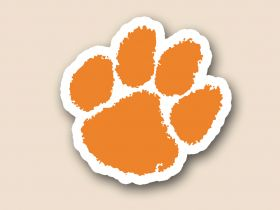Clemson Tigers Cornhole Decals