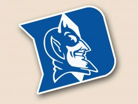 Duke Blue Devils Cornhole Decals