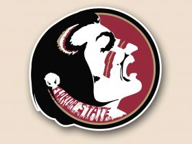 Florida State Seminoles Cornhole Decals