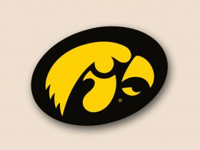 Iowa Hawkeyes Cornhole Decals