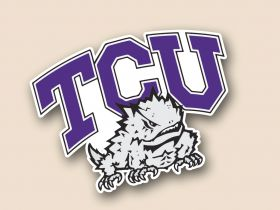 TCU Horned Frogs Cornhole Decals