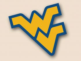 West Virginia Mountaineers Cornhole Decals